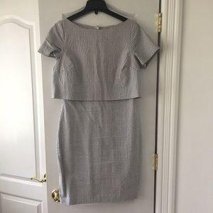 BR striped dress